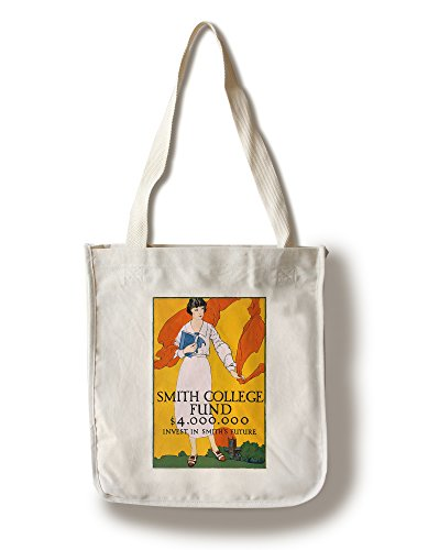 Lantern Press Smith College Fund USA c. 1920 - Vintage Advertisement (100% Cotton Tote Bag - Reusable)