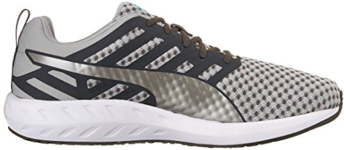 Puma Flare Mens Mesh Running Sneakers Asphalt Quarry