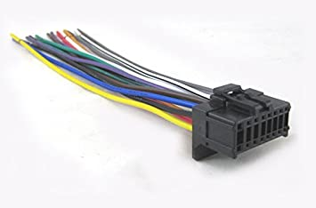 41JGZCO2 fL._SX355_ amazon com mobilistics wire harness fits pioneer avh p1400dvd pioneer avh-p8400bh wiring harness at creativeand.co