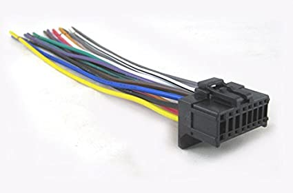 Pioneer P1400dvd Wiring Diagram: Amazon.com: Mobilistics Wire Harness Fits Pioneer AVH-P1400DVD AVH rh:amazon.com,Design