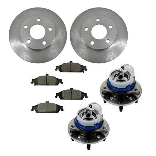 02 pontiac grand am front rotors - 6