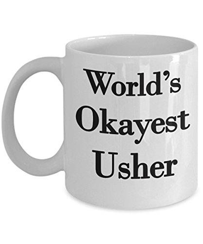 Usher Mug, Gifts for Ushers in Wedding, Great Gift for Church or Informal Wedding, Funny Novelty Gag Gift. -