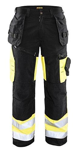 Blaklader 16091860993334:32 Hi-Vis X1600 Work Pants