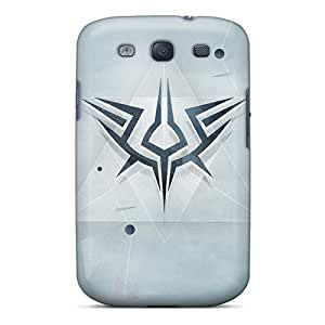 Flexible Tpu Back Case Cover For Galaxy S3 - Assassins Creed Logo Alt