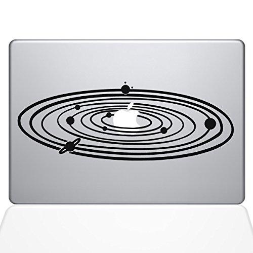 The Decal Guru 2067-MAC-13A-BLA Solar System Decal Vinyl Sticker, Black, 13'' MacBook Air by The Decal Guru