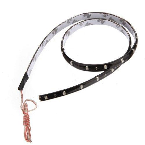 Runfon 2 x 60cm 30 SMD LED Strip Streifen Licht Leiste Lichterkette Band Beleuchtung Weiss 12V 100% Neu