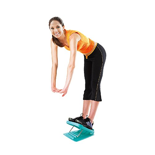 StrongTek Portable Slant Board, Adjustable Incline Boards and Calf/Ankle Stretcher | Anti Slip Design | 4 Positions Foot Stretch Wedge Board (250 lb Capacity)