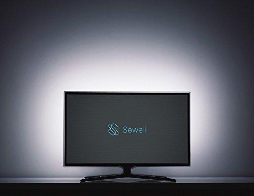 Sewell Direct SW-30623 Light Frame 78 LED USB Powered Bias Lighting for HDTV Backlight or Computer (55