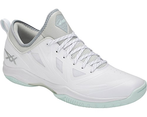 ASICS(アシックス) GLIDE NOVA FF BASKETBALL FOOTWEAR +FITTING (1061A003) B079J566F8 24.5 cm ホワイト/グレイシャーグレー