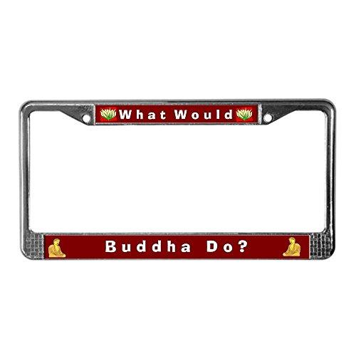 license plate frame buddha - 9