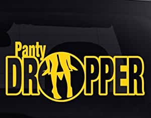 Panty Dropper car Decal Vinyl Sticker JDM Euro Drift Lowered Stance Illest funny