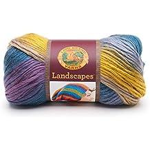Lion Brand Yarn Company 545-216 Lion Brand Landscapes Yarn, Perfect Storm