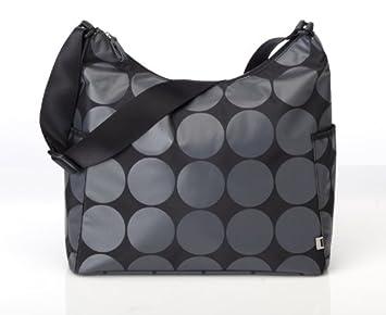 a8853609778ca OiOi Hobo Diaper Bag - Grey Dot