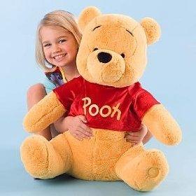 Amazon Com Disney Winnie The Pooh Plush Toy 20 Toys