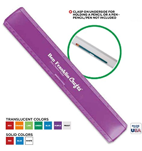 250 USA Made Personalized 12'' Plastic Leading Edge Ruler Printed with Logo or Message by Ummah Promotions