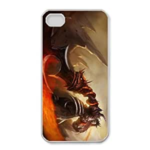 iphone 4 4s funda blanco Tryndamere league of legends SSS6589258