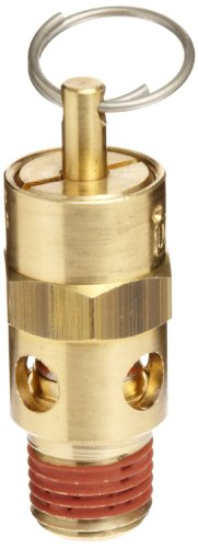 Control Devices ST Series Brass ASME Safety Valve, 60 psi Set Pressure, 1/4