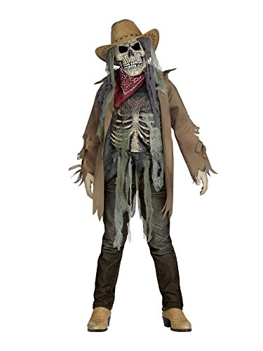 Wanted Dead or Alive Child Costume - Large - Cowboy Zombie Costumes