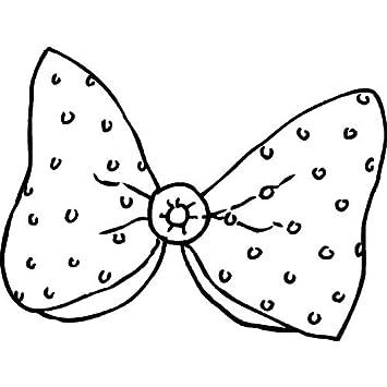 Azeeda A8 Corbata de Moño Sello de Goma (Desmontado) (RS00019917 ...