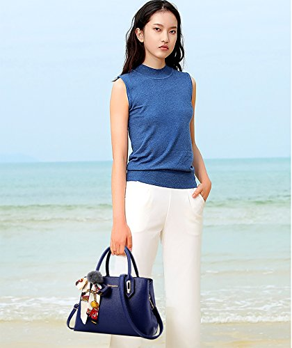 Handbag Royal Messenger Women's Fashion Bag Blue New Shoulder Tote Sdinaz x8nHwq1A0n