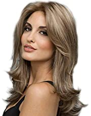 Long Wavy Wigs for Women Heat Resistant Synthetic Weave Hair full Curly Natural Party Wig