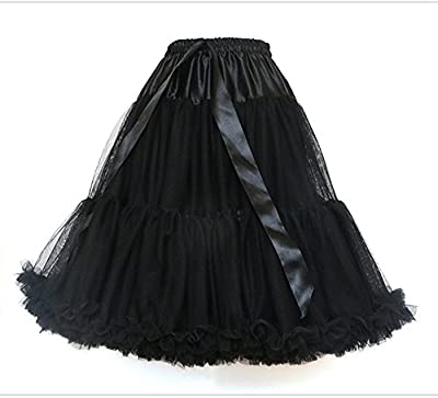 Linruo Vintage Dress Crinoline Petticoat Underskirt Skirts