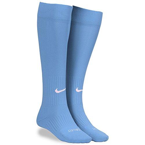 Nike Adult Classic Iii Sport Socks-sky Blue (Large)