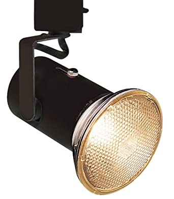 lightolier black mini universal track bullet light track lighting heads a. Black Bedroom Furniture Sets. Home Design Ideas