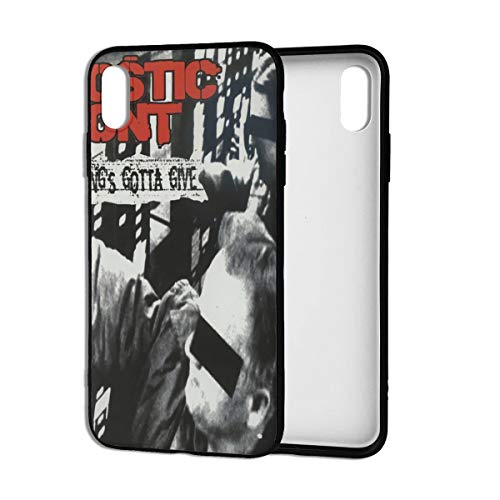 BobBThorpe Agnostic Front Something's Gotta Give Mobile Phone Case for iPhone Xs Max 6.5 Inches,iPhone Xs Max Case