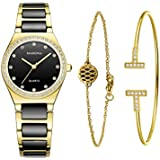 Ladies Quartz Watch Women bracelet set-MAMONA...