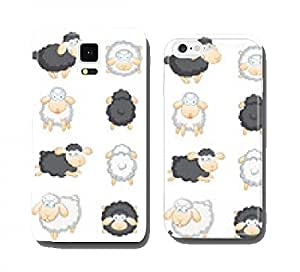 Sheep big set cell phone cover case Apple iPhone 4