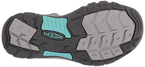 Keen Turquoise Grey Women's Blue Hydro Steel Newport Sandals 8wUq4Px