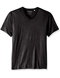 Men's Short Sleeve Mason Yoke V Neck Tee