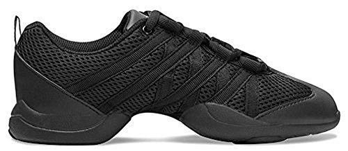 Bloch Dance Women's Criss Cross Shoe, Black, 8.5 Medium US