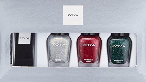 ZOYA Nail Polish, Santa Baby Lips & Tis Quad, 1 fl. oz.