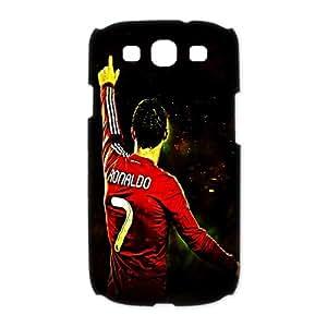 Portuguese footballer Cristiano Ronaldo Personalized SamSung Galaxy S3 I9300/I9308/I939 (3D) Hard Plastic Shell Case Cover(HD image)
