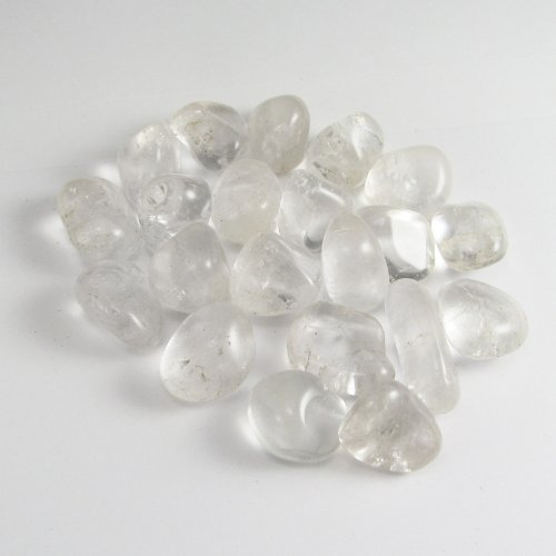 Tumbled Clear Quartz Stone Gemstone Crystal Healing Rock Wiccan Supply by GYPSY PALACE