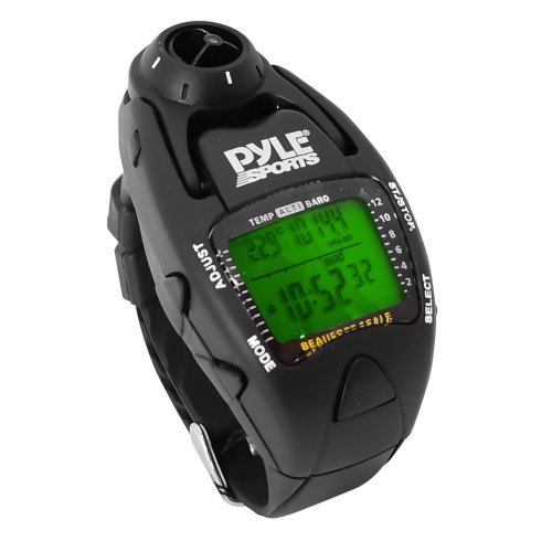 (Pyle Sports Wind Speed Meter and Yacht Timer Watch by Pyle)