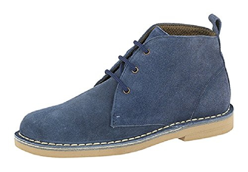 Blue 6 Classic Desert Leather Suede Ladies Boots 64SqHOna