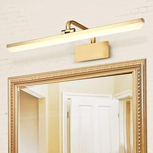 . Americana llevado del espejo del faro de baño Espejo de maquillaje luz delantera de la sala de arte mural de visualización dormitorio de la lámpara del espejo de tocador luces del gabinete