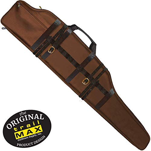 TrailMax Long Range Rifle Scabbard, Gun Case, Accommodates Oversized Scoped Hunting Rifles 54