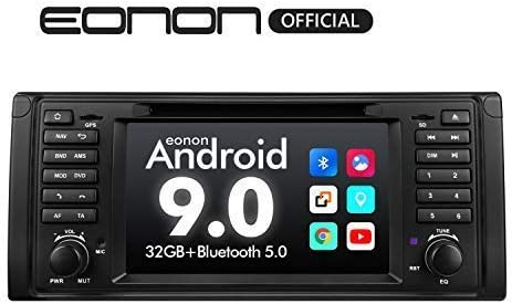 Car Stereo Android Radio, Eonon 7 Inch Android 9.0 Car Radio Applicable to BMW 5 Series 1995-2002 E39 Support Apple Carplay Android Auto Bluetooth 5.0 WiFi Fast Boot DVR Backup Camera OBDII-GA9349