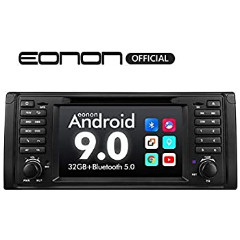 Car Stereo Android Radio, Eonon 7 Inch Android 9.0 Car Radio Applicable to BMW 5 Series 1995-2002(E39) Support Apple Carplay/Android Auto/Bluetooth ...