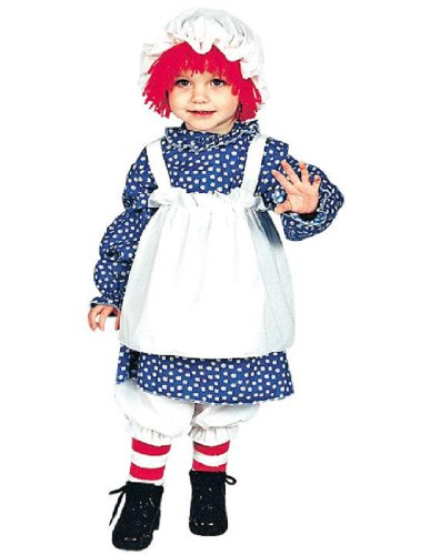Raggedy Ann Toddler 2 To 4 - 12112 (Toddler Raggedy Ann Costume)