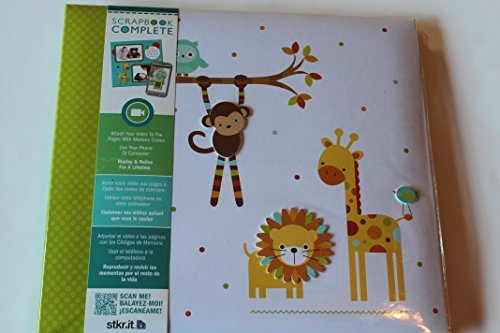 Complete Scrapbook 12 X 12 for Boy or Girl - Zoo Animal Theme ()