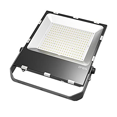 Julitech 50W-240W LED Flood Light, Waterproof IP65, 6500Lm, Super Bright Outdoor LED Flood Lights For Playground, Garage, Garden, Lawn And Yard Model