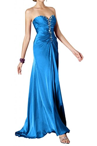 Chiffon Gowns Bride Turquoise Prom Angel Sweetheart Rhinestones Sexy Evening with 4BEHwq