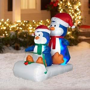 Amazon.com : CHRISTMAS DECORATION LAWN YARD INFLATABLE BOB ...