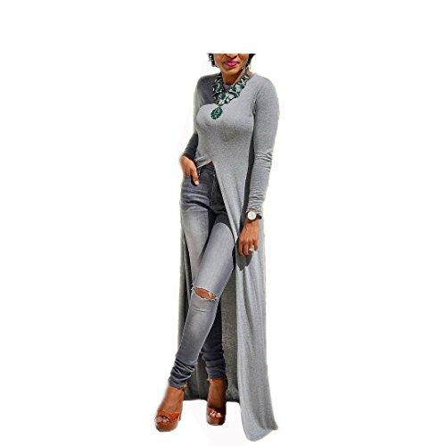 Buy long tight dress with split - 6