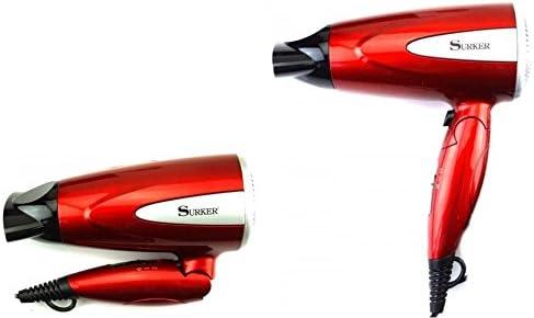 Surker Sèche cheveux portable pliable 1800 W, modèle RCY 8213